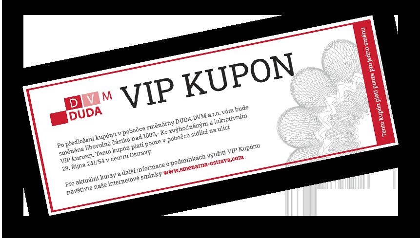 VIP kupon
